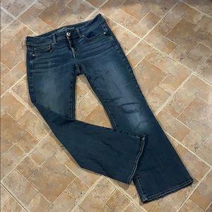 American Eagle kick boot jeans size women's 10